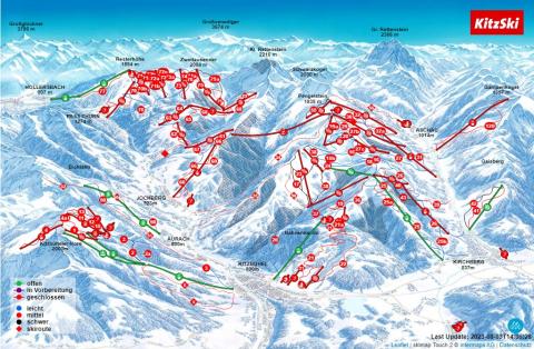 Mittersill - Paß Thurn - Kitzbühel