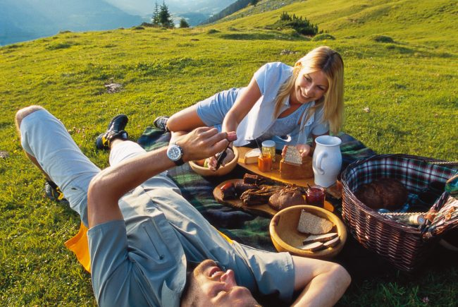 Picknick im Almsommer