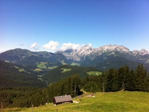 Wanderung zur Loseggalm in Annaberg