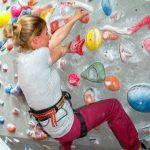 Perfekt zum Trainieren der Griffe - das Bouldern