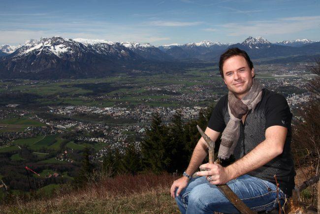 Manuel Horeth am Gaisberg