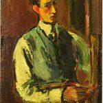 Anton Faistauer - Selbstbildnis 1918