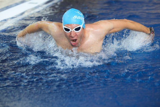 Schwimmbahnen im Aqua Salza