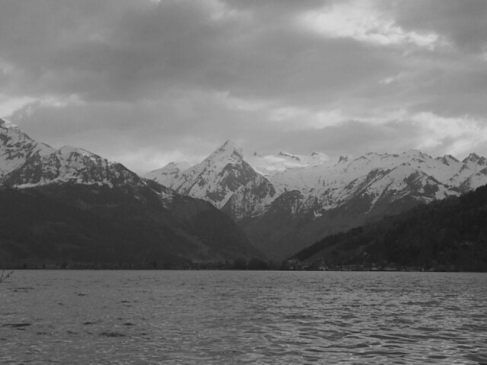 Zeller See und Kitzsteinhorn