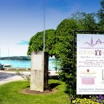 Infotafel auf der Seepromenade