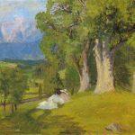 Sommerlandschaft in Maishofen