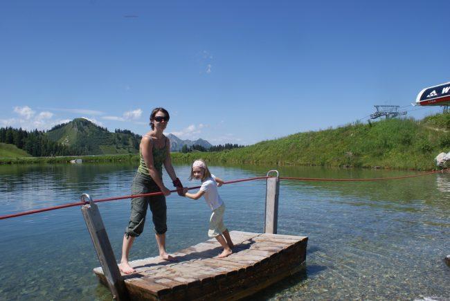 Floßfahrt am Grafenberg