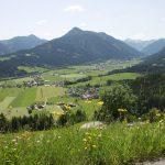 Blick vom Aigenberg ins Flachautal
