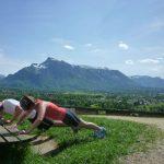 Sightrunning Training auf der Richterhöhe