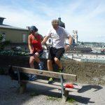 Sightrunning: Training mit dem Theraband