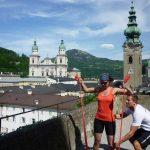 Sightrunning - Training über den Dächern der Stadt Salzburg