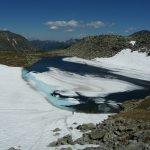 Pfringersee mit Eis-Schollen ;-)