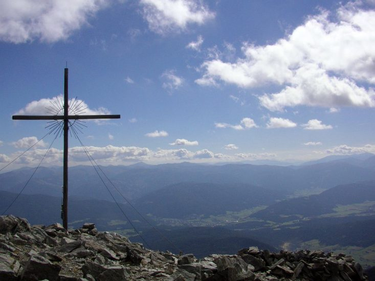 Gipfelkreuz Preber bei Tamsweg im Lungau