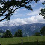 Traumhafte Bergkulisse am Ritzensee