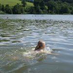Erfrischung im See