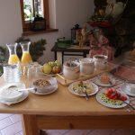 Frühstücksbuffet auf der Alm