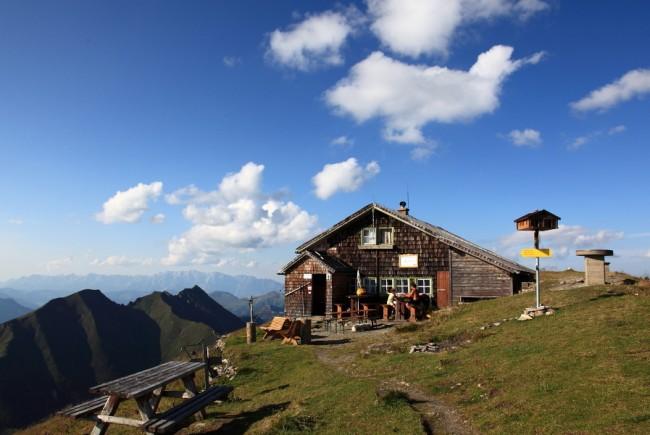 Bad Gasteiner Hütte am Gamskarkogel