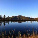 Der Spiegelsee und wie er wohl zu seinem Namen gekommen ist