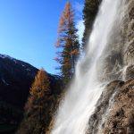 Kreealm-Wasserfall im Herbst