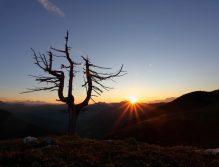 Der wohl berührendste Moment - wenn die Sonne den Horizont berührt - voller Schönheit und Vergänglichkeit