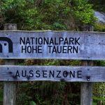 Gleich nach dem Ötzlsee beginnt die Außenzone des Nationalparks Hohe Tauern