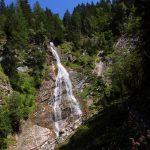 Erstmals freier Blick auf den gesamten Kreealm-Wasserfall