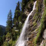 Der Wasserfall von der Kreealm herab