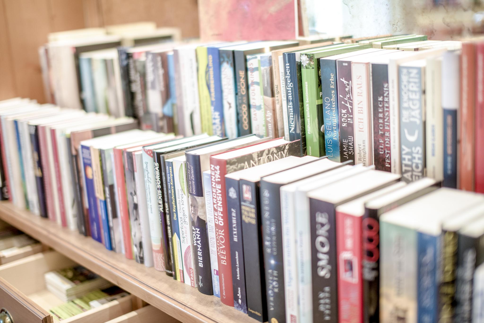 Große Buchauswahl © Hotel Sonnleitn