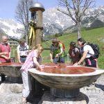Dreifaltigkeitsbrunnen in Hintertal bei Maria Alm © Gerlinde Eidenhammer