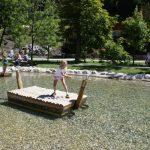 Floßfahrt am Almsee