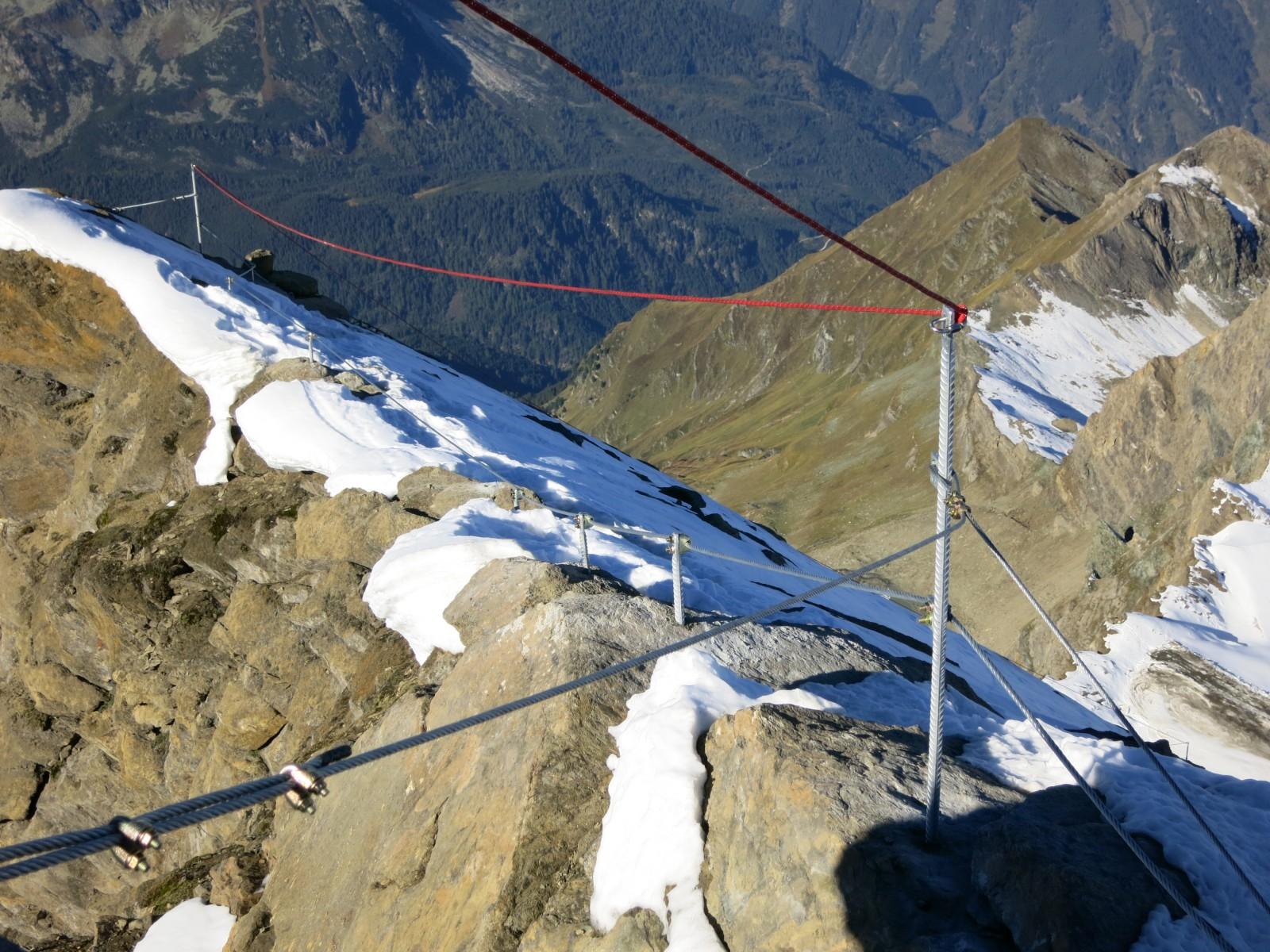 c Bergführer Zell am See Kaprun. Der Gipfelgrat.