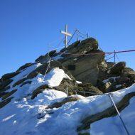 Der Gipfelanstieg.