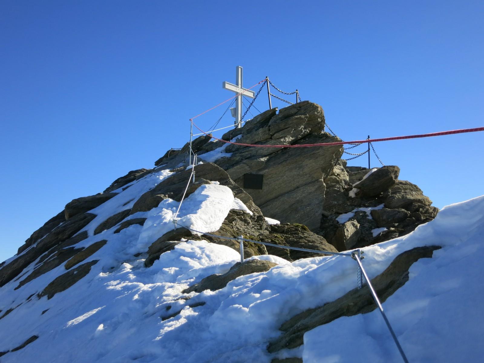 c Bergführer Zell am See Kaprun. Der Gipfelanstieg.