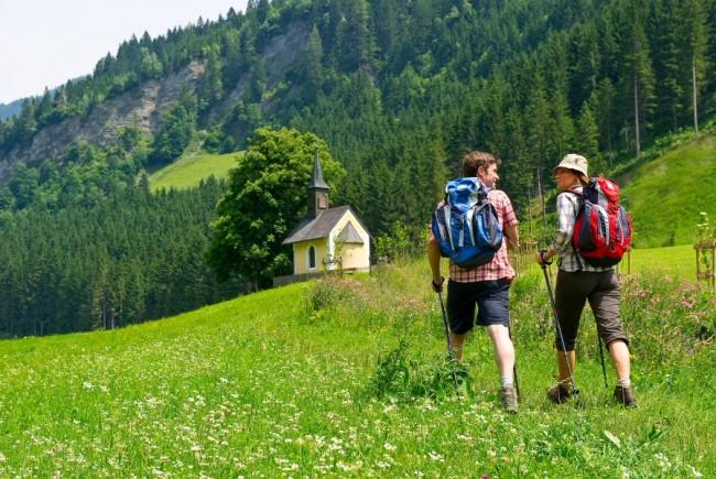 Wandern am Kapellenweg
