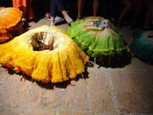 Röcke der Papageno-Mädchen