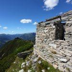 Das Schöder-Wachthaus am Grat zwischen Schödertal und Kreealmkar