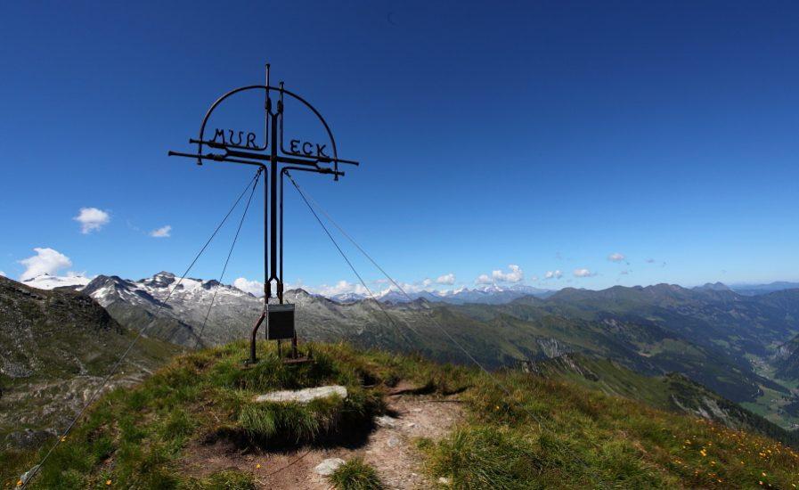 Blick vom Mureck (2.402 m) zum Keeskogel (2.884 m)