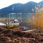 Bucht im Spätherbst mit dem angezuckerten Filbling im Hintergrund © Raffaela Binder