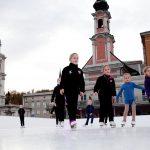 Mini Mozart Eisläuferinnen