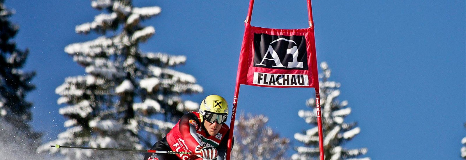Hermann Maier beim Weltcup Flachau 2004