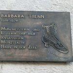 Münzmeisterin Barbara Thenn