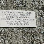 Auch der Name Mozart darf bei Salzburgs berühmten Töchtern nicht fehlen