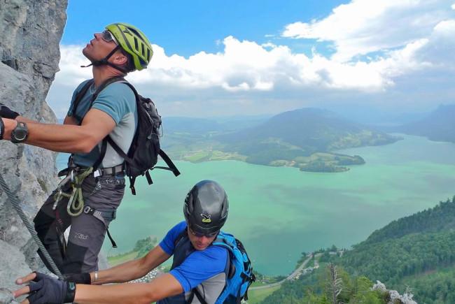 Klettersteigset Sportler : Abenteuer klettersteig salzburgerland magazin