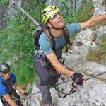 Richtige Ausrüstung am Klettersteig wichtig