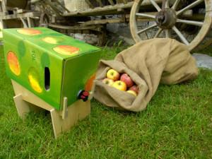 Genuss Region Bramberger Obstsaft in der umweltfreundlichen bag-in-a-box Kartonverpackung c Rita Newman