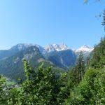 Blick auf die Loferer Steinberge