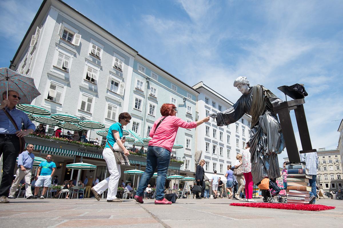 Ed Silver treibt, dass die Menschen ihn und Salzburg in positiver Erinnerung behalten.