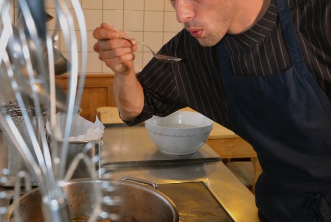 Franz Meilinger ist Koch aus Leidenschaft. Claus Muhr/Satel Film 2012