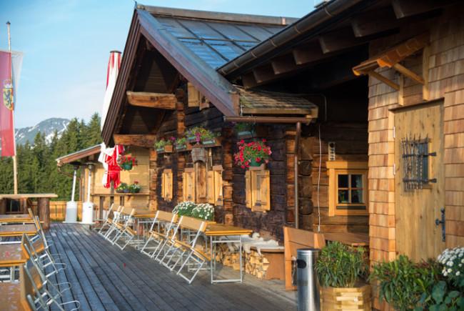 Die Reiteralm - erbaut im Jahr 1771 und 2012 von Toni und Tanja Kees übernommen und modernisiert.