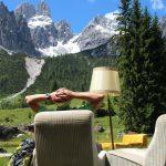 Sofa-Wandern mit Bischofsmützenblick